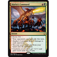 Atarka's Command (Dragons of Tarkir Prerelease Promo)