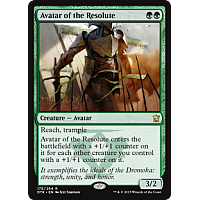 Avatar of the Resolute (Dragons of Tarkir Prerelease Promo)