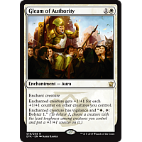 Gleam of Authority ( Foil )