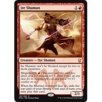 Ire Shaman (Dragons of Tarkir Prerelease Promo)