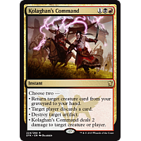 Kolaghan's Command (Dragons of Tarkir Prerelease Promo)
