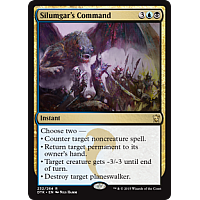 Silumgar's Command (Dragons of Tarkir Prerelease Promo)