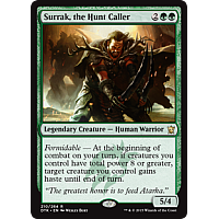 Surrak, the Hunt Caller (Dragons of Tarkir Prerelease Promo)