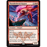 Thunderbreak Regent (Dragons of Tarkir Prerelease Promo)