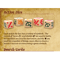 Mice and Mystics [Mice & Mystics]: Action Dice