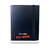 2-Pocket Black PRO-Binder