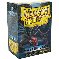 Dragon Shield - Matte black (100)