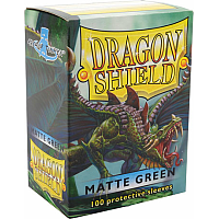 Dragon Shield - Matte green (100)