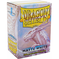 Dragon Shield - Matte white (100)