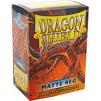 Dragon Shield - Matte red (100)