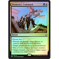 Dromoka's Command (Dragons of Tarkir Prerelease Promo)