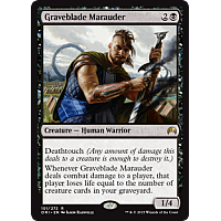 Graveblade Marauder ( Foil ) (Magic Origins Prerelease)