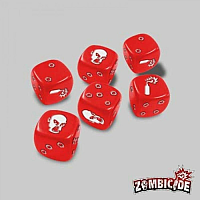 Zombicide: Red Dice (6)
