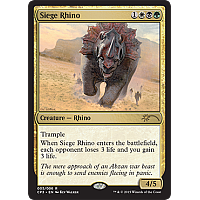 Siege Rhino ( Magic Origins Clash pack )