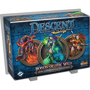 Descent: Journeys in the Dark (Second Edition) - Bonds Of The Wild (Hero and Monster Collection)_boxshot