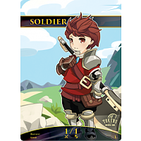 Tokens for MTG - Soldier Chibi Token