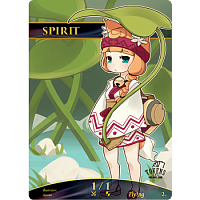 Tokens for MTG - Spirit Chibi Token