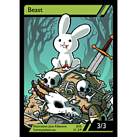 Yummy Tokens - Beast Token 3/3