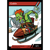 Yummy Tokens - Goblin Token 1/1