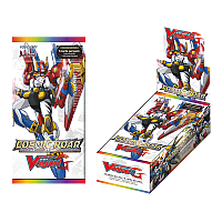 Cardfight!! Vanguard G Extra Booster Pack Vol. 1: Cosmic Roar display