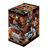 Attack on Titan booster box (20 boosters)