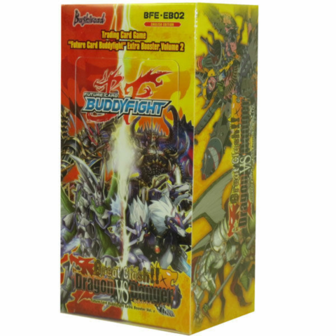 EB02: Great Clash!! Dragon VS Danger booster box_boxshot