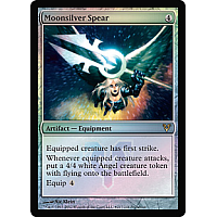 Moonsilver Spear ( Foil ) (Avacyn Restored Prerelease)