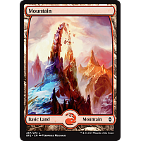 Mountain ( Foil ) ( Full art )