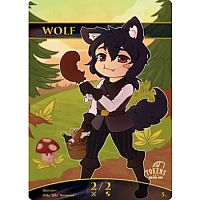 Tokens for MTG - Wolf