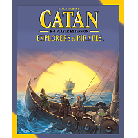 Catan: Explorers & Pirates - 5/6 Player Expansion (5th Edition)