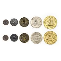 Metal Coins: Pirate Ships theme