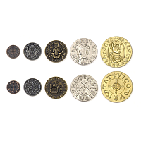Metal Coins: Middle Ages theme