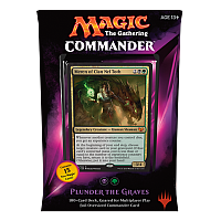 Commander 2015: Plunder the Graves (Black/Green