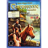 Carcassonne 2.0 - Expansion 1: Inns & Cathedrals (Skandinavisk)