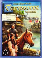 Carcassonne 2.0 - Expansion 1: Inns & Cathedrals (Skandinavisk)_boxshot