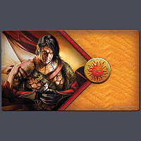 AGOT LCG 2nd Edition: Red Viper Playmat