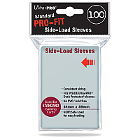 Standard Size Pro-Fit Side-Load Sleeves 100ct