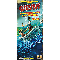 Survive, Escape from Atlantis: Dolphins & Squids & 5-6 Players... Oh My!