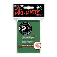 60ct Pro-Matte Green Small Deck Protectors