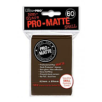 60ct Pro-Matte Brown Small Deck Protectors
