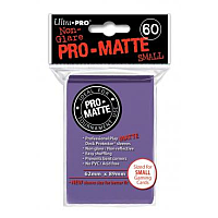 60ct Pro-Matte Purple Small Deck Protectors