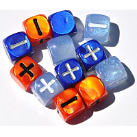 Fate Dice (12 Dresden Files-themed)