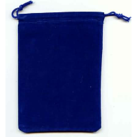Dice Bag Blue 4