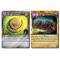 Mage Wars: Ankh Of Asyra/Blur (Promo Cards)