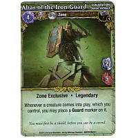 Mage Wars: Altar of the Iron Guard Promo Card