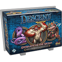 Descent: Journeys in the Dark (Second Edition) - Stewards Of The Secret (Hero and Monster Collection)
