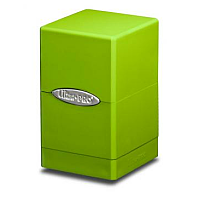 Lime Green Satin Tower Deck Box
