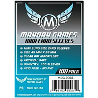 Mayday Games Card Sleeves - Mini Euro Size