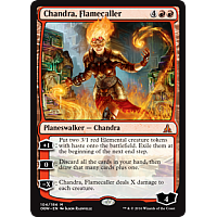 Chandra, Flamecaller ( Oath of the Gatewatch Prerelease Foil )