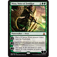 Nissa, Voice of Zendikar ( Oath of the Gatewatch Prerelease Foil )